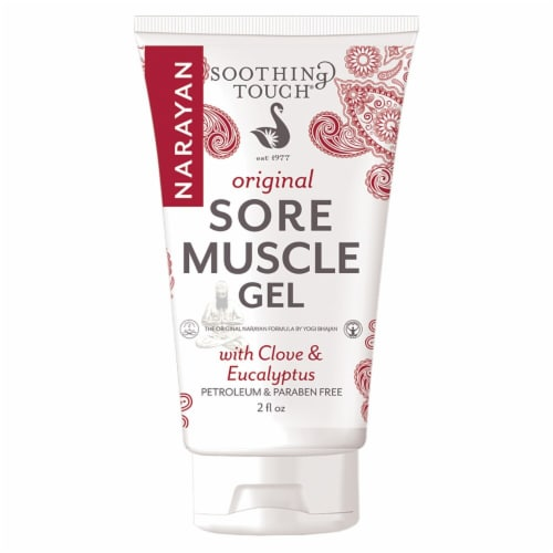 Soothing Touch  Original Sore Muscle Gel with Clove & Eucalyptus Perspective: front