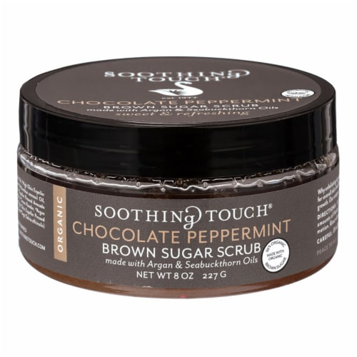 Soothing Touch Chocolate Peppermint Brown Sugar Scrub Perspective: front
