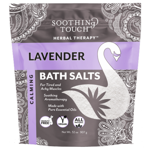 Soothing Touch Lavender Bath Salts Perspective: front