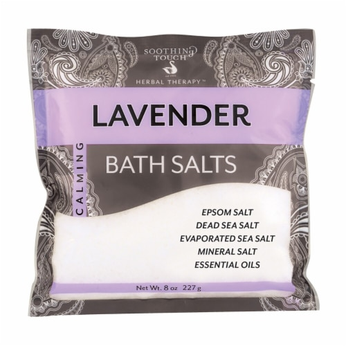 Soothing Touch Calming Lavender Bath Salts Perspective: front