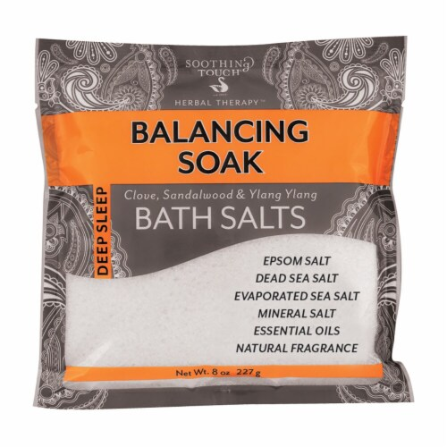 Soothing Touch Deep Sleep Balancing Soak Bath Salts Perspective: front