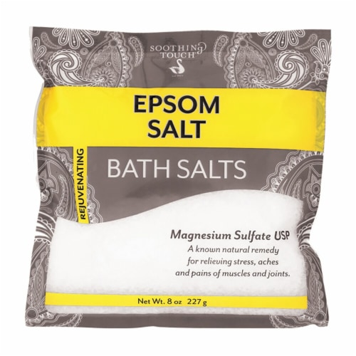 Soothing Touch Rejuvenating Epsom Bath Salts Perspective: front