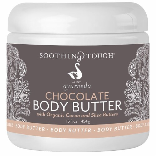 Soothing Touch Ayurveda Chocolate Body Butter Perspective: front