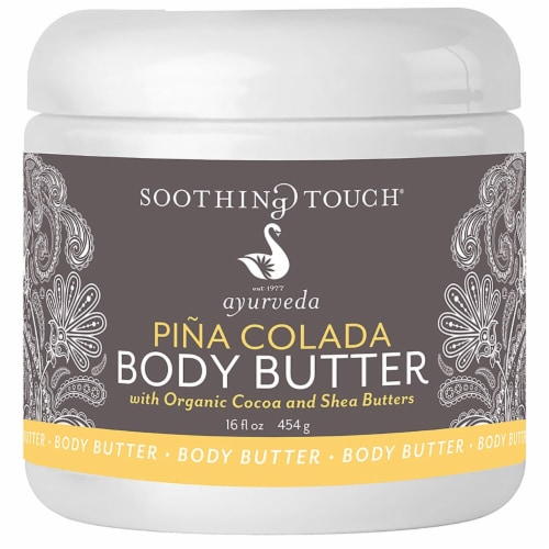 Soothing Touch Ayurveda Pina Colada Body Butter Perspective: front