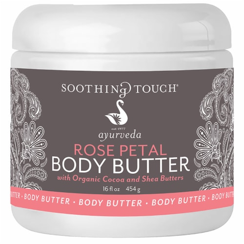 Soothing Touch Ayurveda Rose Petal Body Butter Perspective: front
