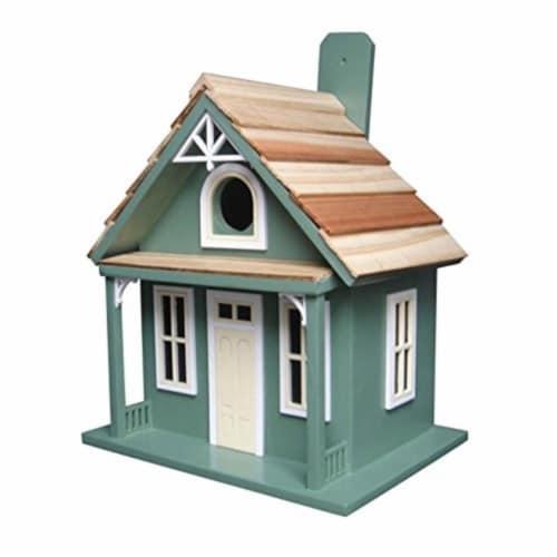 Home Bazaar HB-9506GS Santa Cruz Cottage - Green Perspective: front