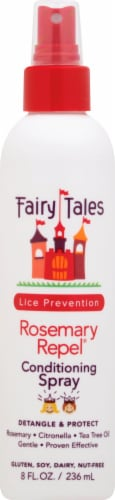 Fairy Tales Rosemary Repel Lice Prevention Conditioning Spray Perspective: front