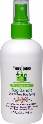 Fairy Tales  Bug Bandit Repellant Spray Perspective: front