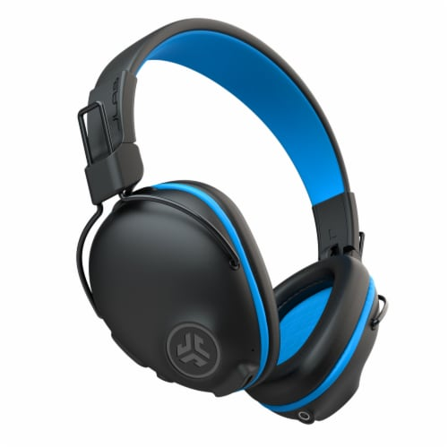 JLab Audio Studio Pro Wireless Headphones - Blue Perspective: front