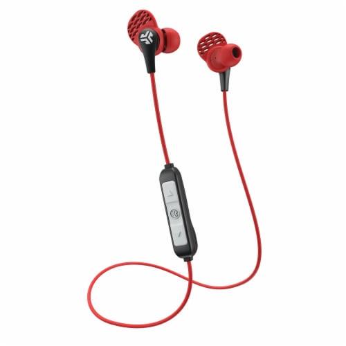 JLab Audio JBuds Pro Earbuds - Red/Black Perspective: front