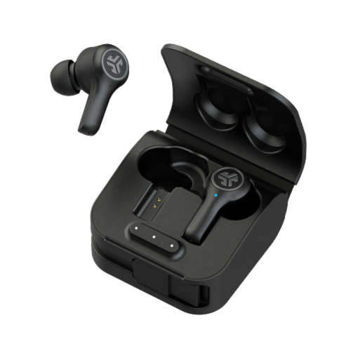 JLab Audio EPIC Air In Ear Wireless Earbuds - Black Perspective: front