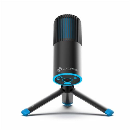 JLab Audio Talk Go Microphone - Black/Blue Perspective: front