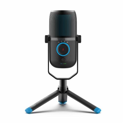 JLab Audio Talk Microphone - Black Perspective: front