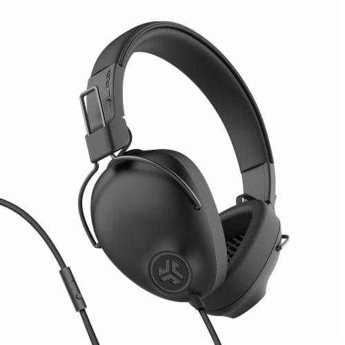 JLab Audio Studio Pro Wired Headphone - Black Perspective: front