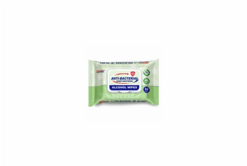 Germisept Anti-Bacterial Hand Sanitizing Alcohol Wipes Perspective: front
