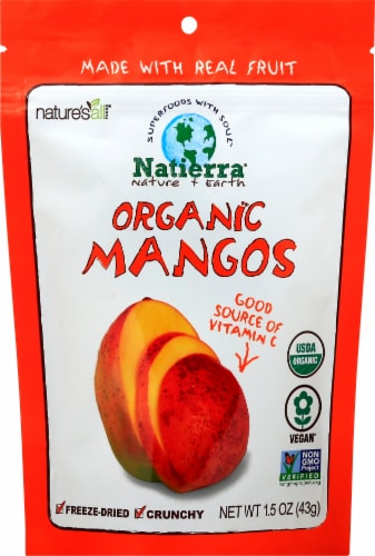 Nature's All Foods Organic Mango Perspective: front