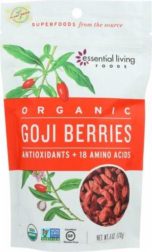 Essential Living Foods Organic Goji Berries Perspective: front