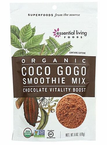 Essential Living Foods  Organic Smoothie Mix   Coco Gogo Perspective: front