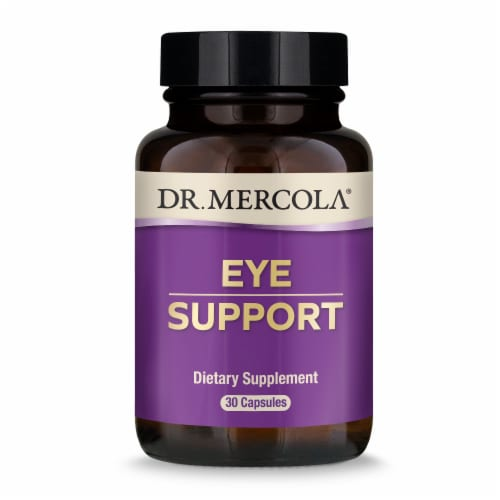 Mercola Eye Support Supplement Capsules Perspective: front