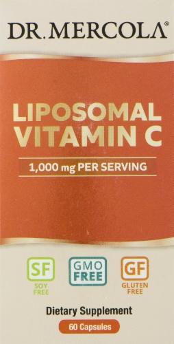 Mercola Liposomal Vitamin C Capsules Perspective: front