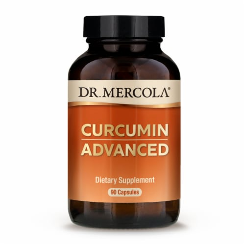 Mercola Curcumin Advanced Capsules Perspective: front