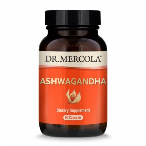 Mercola Organic Ashwagandha Capsules Perspective: front