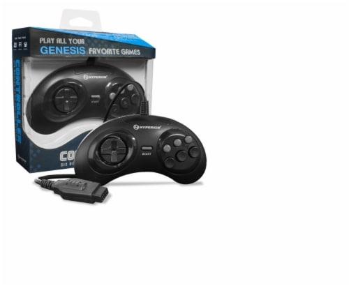 Hyperkin GN6 Premium Genesis Controller - Black Perspective: front