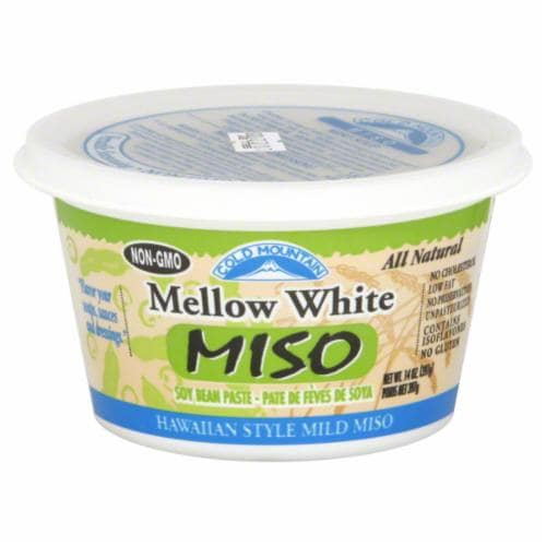 Cold Mountain Mellow White Miso Perspective: front
