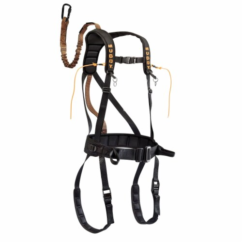 Muddy MSH400-SM Muddy Safeguard Harness - Black S M Perspective: front