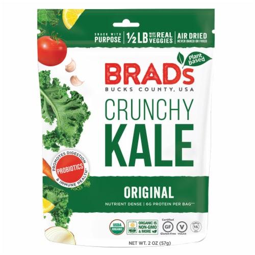 Brad's Original Probiotic Crunchy Kale Perspective: front