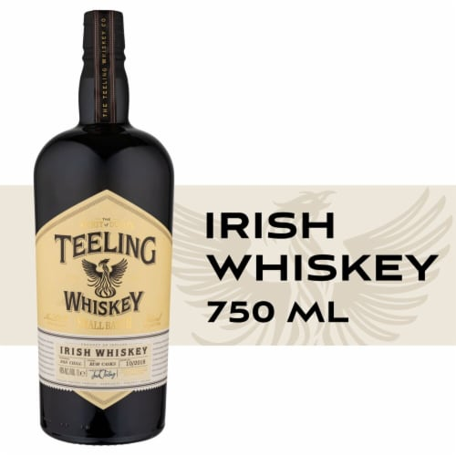 Teeling Whiskey Small Batch Irish Whiskey Perspective: front