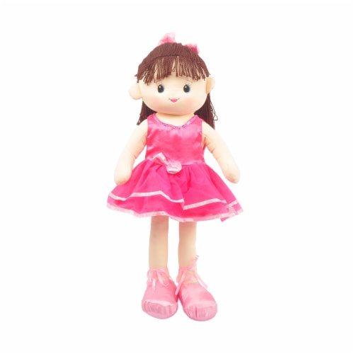 Linzy Toys Veronica Doll - Hot Pink Perspective: front