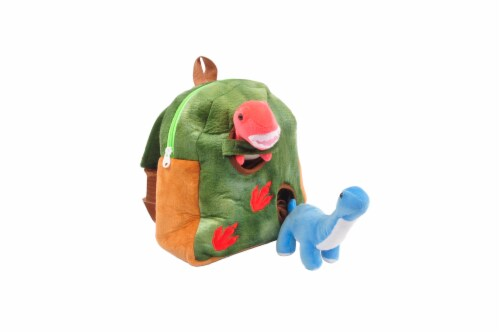 Linzy Toys Dinosaur Backpack Perspective: front