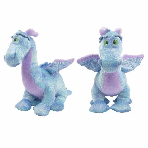 Linzy Toys Dragon Coin Bank - Blue Perspective: front