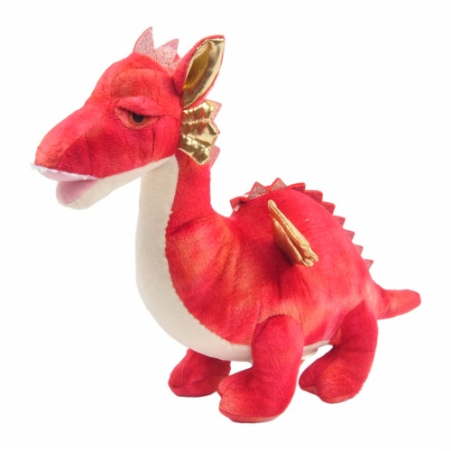 Linzy Toys Dragon Coin Bank - Red Perspective: front