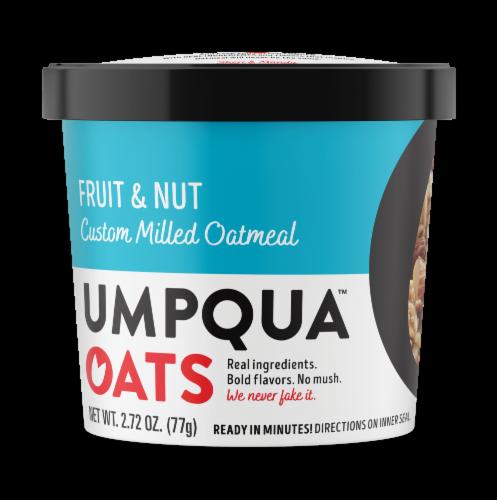 Umpqua Oats Fruit & Nut Custom Milled Oatmeal Perspective: front