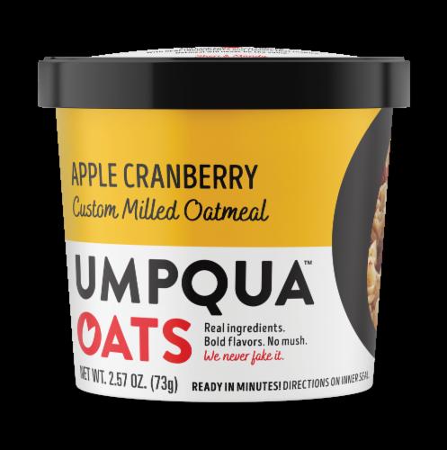 Umpqua Oats Apple Cranberry Custom Milled Oatmeal Perspective: front