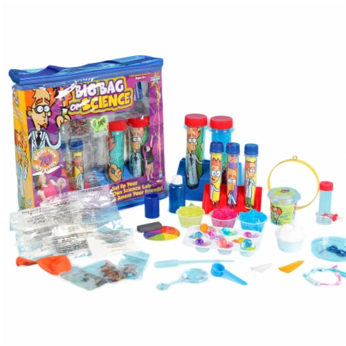 Be Amazing! Toys Big Bag of Science Activity Kit Perspective: front