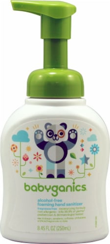 Babyganics Alcohol & Fragrance Free Foaming Hand Sanitizer Perspective: front