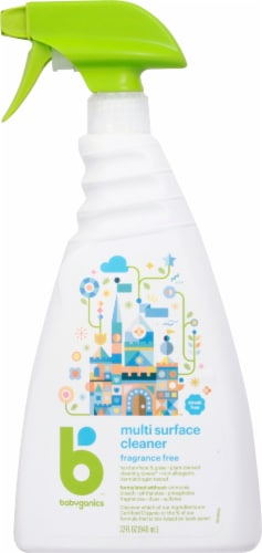 Babyganics Fragrance Free Multi Surface Cleaner Perspective: front