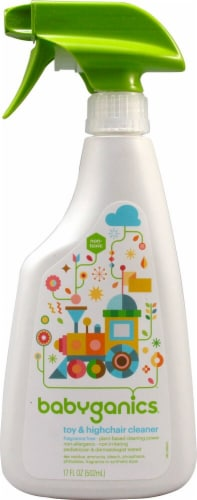 Babyganics  The Cleaner Upper™ Toy And Highchair Cleaner Fragrance Free Perspective: front