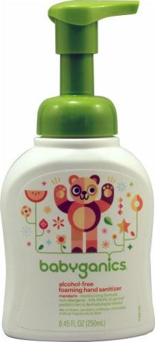 Babyganics  Alcohol Free Foaming Hand Sanitizer Tangerine Perspective: front