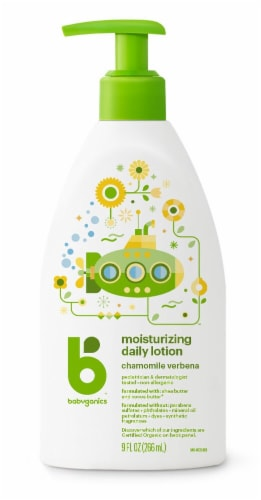 Babyganics Daily Lotion Perspective: front