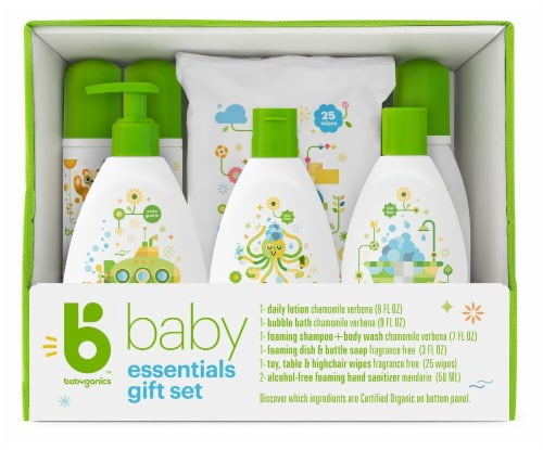 Babyganics  Essentials Gift Set Perspective: front