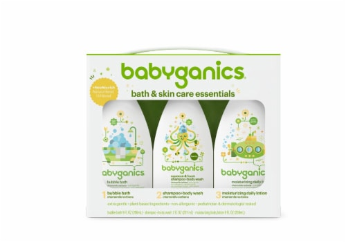 Babyganics  Bath and Skin Care Essentials Perspective: front