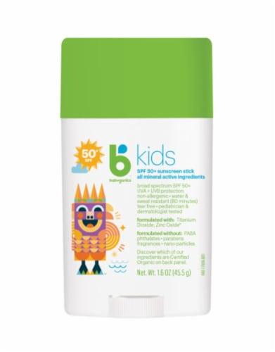 Babyganics BKids Sunscreen Stick 50 SPF Perspective: front