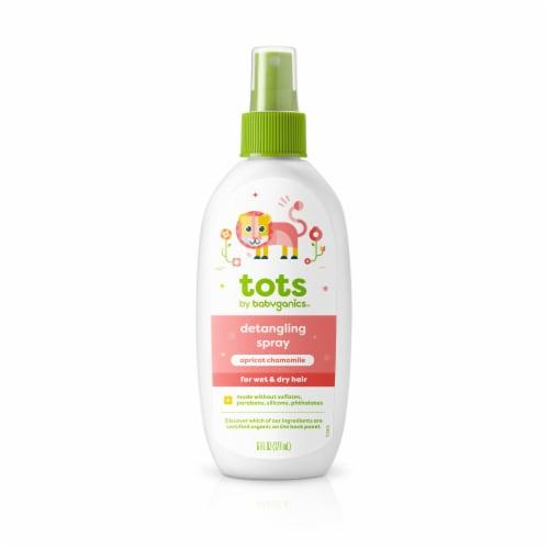 Babyganics® Tots Apricot Chamomile Detangling Spray Perspective: front