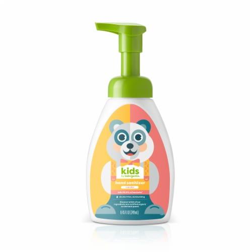 Babyganics Kids Cupcake Hand Sanitizer Perspective: front