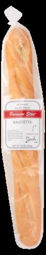 Essential Baking Co. Parisian Star Baguette Perspective: front
