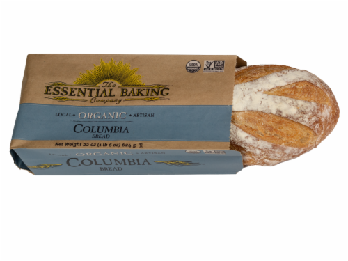 The Essential Baking Company Organic Columbia Rustic White Artisan Bread Perspective: front